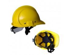 B-Nón bảo hộ chất lượng cao N.006  màu vàng (khóa vặn)