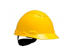 3M-Nón 3M H702R, màu vàng không có lỗ (không gồm quai nón)
