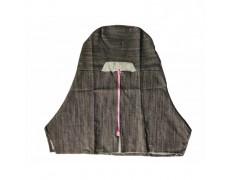 VN-Nón trùm đầu cho thợ hàn vải jean (Có dây kéo)