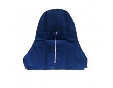 VN-Nón trùm đầu cho thợ hàn vải Kaki (Có dây kéo)