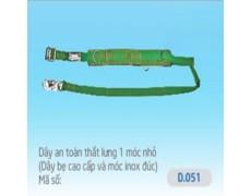 B-Dây an toàn 1 móc nhỏ D.051 (dây xịn, móc Inox)