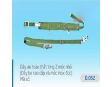 B-Dây an toàn 2 móc nhỏ D.052 (dây xịn, móc Inox)