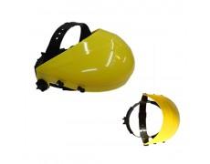 TW-Nón bảo hộ (màu vàng), kết hợp với tấm che mặt FC