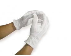 Găng tay chấm hạt thời trang vải Cotton