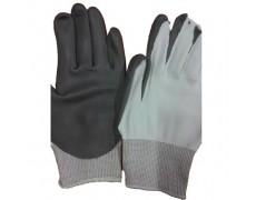 D-Găng tay chống cắt Dyneema Phủ PU màu trắng