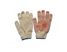 OH-Găng tay len chấm hạt nhựa PVC (70g) loại 1