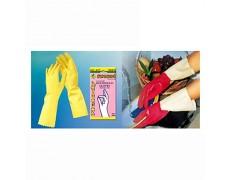CN-Găng tay cao su gia dụng cao cấp có lót lông cotton hiệu Melody