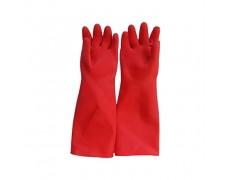 CN-Găng tay công nghiệp dài 42 cm màu đỏ (Siêu dày)